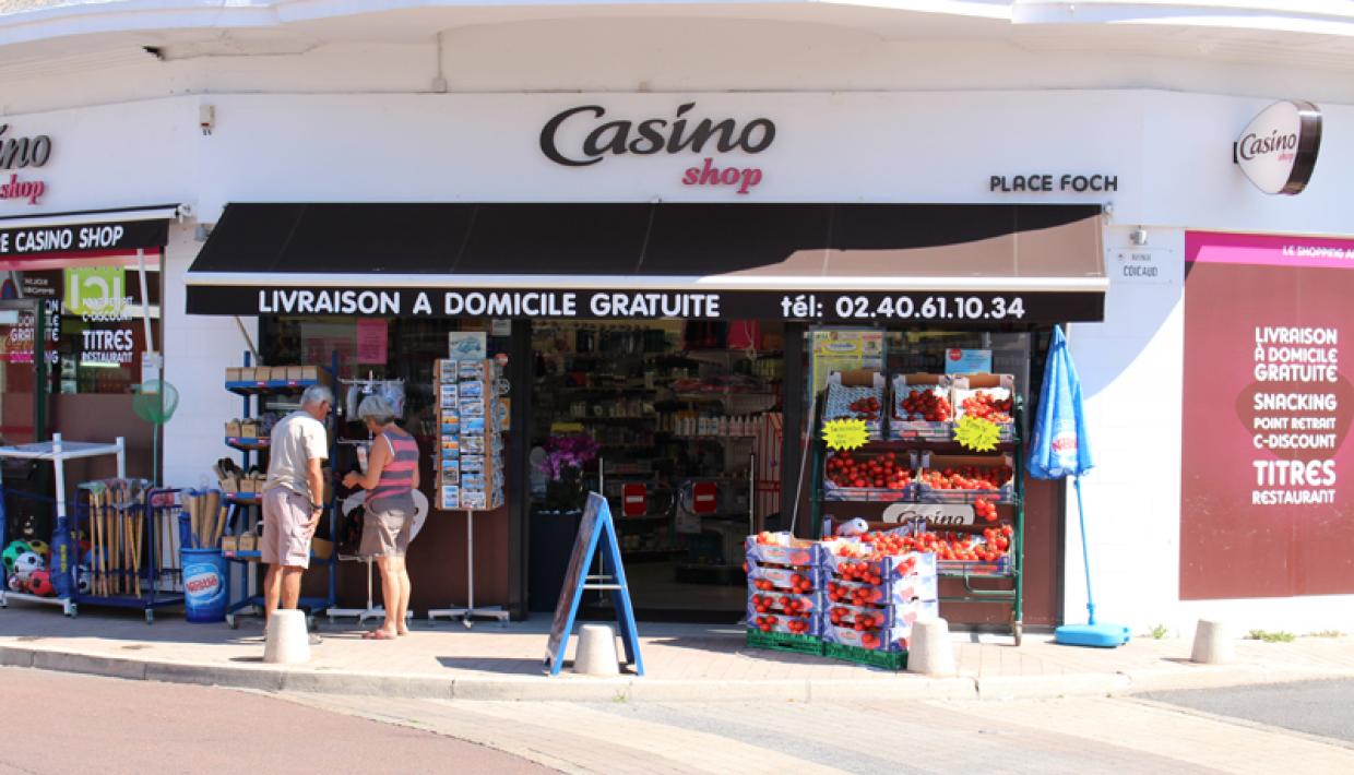 alimentation Casino shop